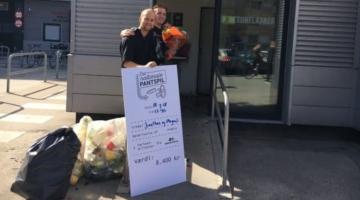 Musikalske venner vandt Roskilde-billetter