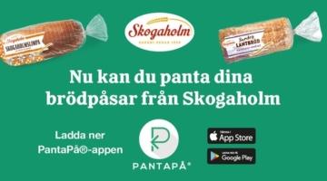 Svenskerne kan pante emballagen fra posebrødet