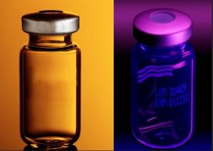 Pharma emballage med og uden UV